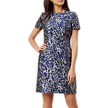 Buy Hobbs Kayla Dress, Blue/Multi Online at johnlewis.com