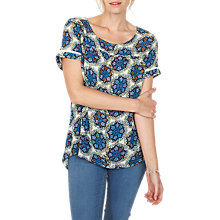 Buy Fat Face Hannah Star Mosaic Top, Ivory Online at johnlewis.com