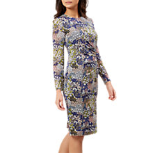 Buy Hobbs Merida Dress, Navy/Multi Online at johnlewis.com