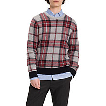 Buy Tommy Hilfiger Penley Knit Jumper, Cloud Heather Online at johnlewis.com