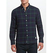 Buy Penfield Blackwatch Check Shirt, Blue Online at johnlewis.com