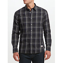 Buy Penfield Clarke Windowpane Shirt, Grey Online at johnlewis.com