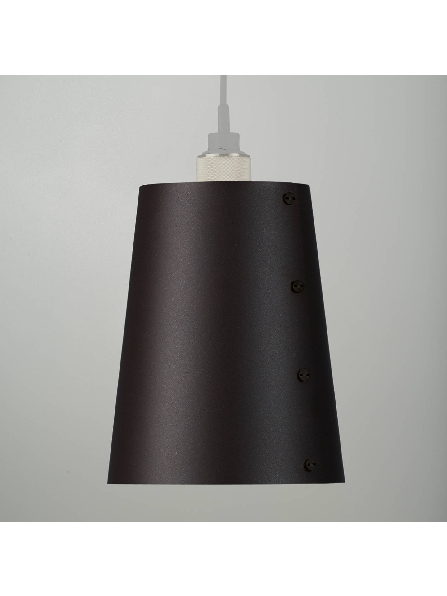 BuyBuster + Punch  Hooked Lampshade, Graphite, Small Online at johnlewis.com