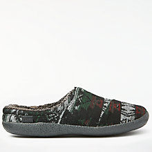Buy TOMS Berkley Slipper, Black/Grey Online at johnlewis.com