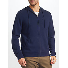 Buy John Lewis Cashmere Zip Through Hoodie Online at johnlewis.com