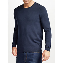 Buy John Lewis Cotton Cashmere Crew Neck Jumper Online at johnlewis.com