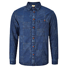 Buy JOHN LEWIS & Co. Patchwork Denim Shirt, Indigo Online at johnlewis.com
