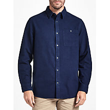 Buy John Lewis Dalton Moleskin Shirt, Navy Online at johnlewis.com