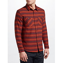 Buy JOHN LEWIS & Co. Expedition Stripe Shirt, Red Online at johnlewis.com