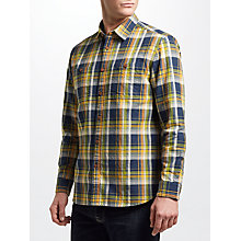 Buy JOHN LEWIS & Co. Teton Check Shirt, Yellow Online at johnlewis.com