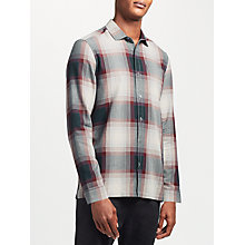 Buy Kin by John Lewis Large Check Shirt, Red Online at johnlewis.com