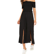Buy Miss Selfridge Bardot Dress, Black Online at johnlewis.com