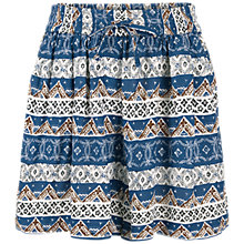 Buy Fat Face Flora Flippy Shorts, Navy Online at johnlewis.com