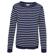 Buy Fat Face Ella Stripe Jumper Online at johnlewis.com