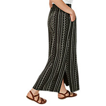 Buy Fat Face Amber Stretch Stripe Maxi, Black/White Online at johnlewis.com