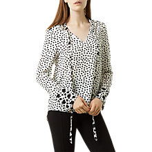 Buy Fenn Wright Manson Isla Top, Black/Cream Online at johnlewis.com