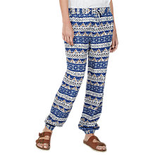 Buy Fat Face Flora Vintage Trousers, Navy Online at johnlewis.com
