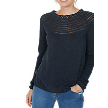 Buy Fat Face Lily Yoke Stitch Jumper Online at johnlewis.com