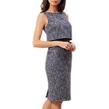 Buy Hobbs Arabella Dress, Navy Ivory Online at johnlewis.com