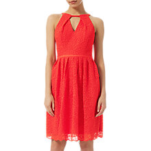 Buy Adrianna Papell English Garden Dress, Persimmon Online at johnlewis.com