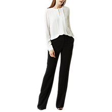 Buy Fenn Wright Manson Harper Trouser, Black Online at johnlewis.com
