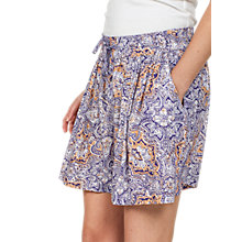 Buy Fat Face Flippy Paisley Shorts, Navy Online at johnlewis.com