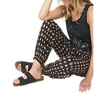 Buy Fat Face Rustic Aztec Printed Trousers, Phantom Online at johnlewis.com