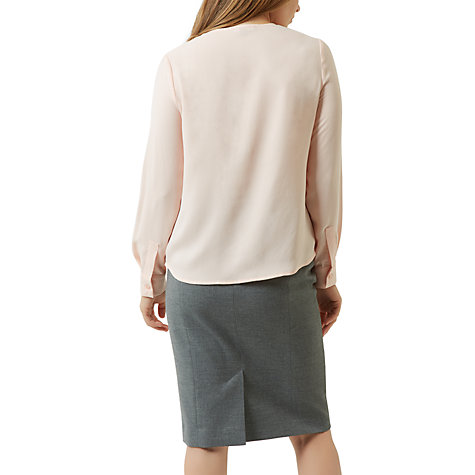 Buy Fenn Wright Manson Petite Adina Top, Pale Pink Online at johnlewis.com
