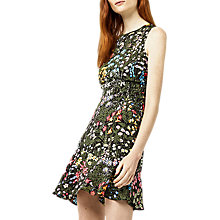 Buy Warehouse Wild Garden Dress, Multi Online at johnlewis.com