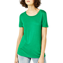 Buy Warehouse Smart T-Shirt, Bright Green Online at johnlewis.com