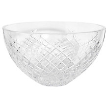 Buy Soho Home Barwell Crystal Cut Glass Bowl Online at johnlewis.com