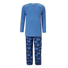 Buy John Lewis Children's Henley Cars Pyjamas, Multi Online at johnlewis.com