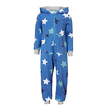 Buy John Lewis Children's All-Over Star Print Onesie, Multi Online at johnlewis.com