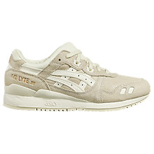 Buy Asics Tiger Gel-Lyte III Women's Trainers, Cream Online at johnlewis.com