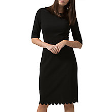 Buy Sugarhill Boutique Albury Ponte Dress, Black Online at johnlewis.com