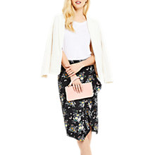 Buy Oasis Ruffle Pencil Skirt, Multi Online at johnlewis.com