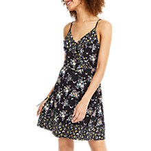 Buy Oasis Patched Ditsy Sundress, Multi/Black Online at johnlewis.com