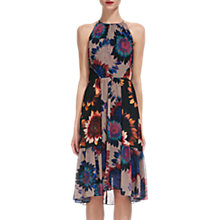 Buy Whistles Sunflower Print Dress, Multi Online at johnlewis.com