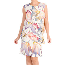 Buy Chesca Print Layered Chiffon Dress, Multi Online at johnlewis.com