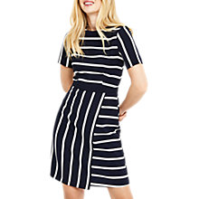 Buy Oasis Cutabout Stripe Shift Dress, Multi Online at johnlewis.com