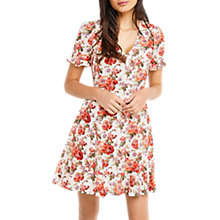 Buy Oasis Natural Utility Rose Dress, Multi Online at johnlewis.com