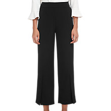 Buy Whistles Split Front Trouser, Black Online at johnlewis.com