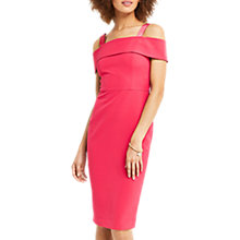 Buy Oasis Bardot Pencil Dress, Pink Online at johnlewis.com