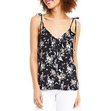 Buy Oasis Ditsy Shipwrecked Cami, Multi/Black Online at johnlewis.com
