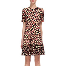 Buy Whistles Star Print Dress, Red/Multi Online at johnlewis.com