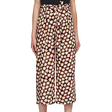 Buy Whistles Star Print Tie Waist Trousers, Multi Online at johnlewis.com