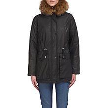 Buy Whistles Karlie Waxy Parka Online at johnlewis.com