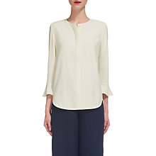 Buy Whistles Jerry Frill Sleeve Top, White Online at johnlewis.com