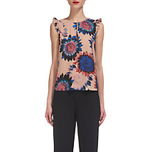 Buy Whistles Sunflower Print Top, Multi Online at johnlewis.com