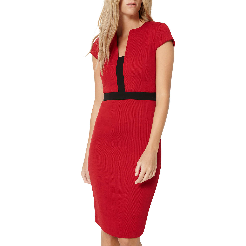 Damsel In A Dress Kelsie Dress Black At John Lewis: Damsel In A Dress Rhumba Dress, Red/Black At John Lewis